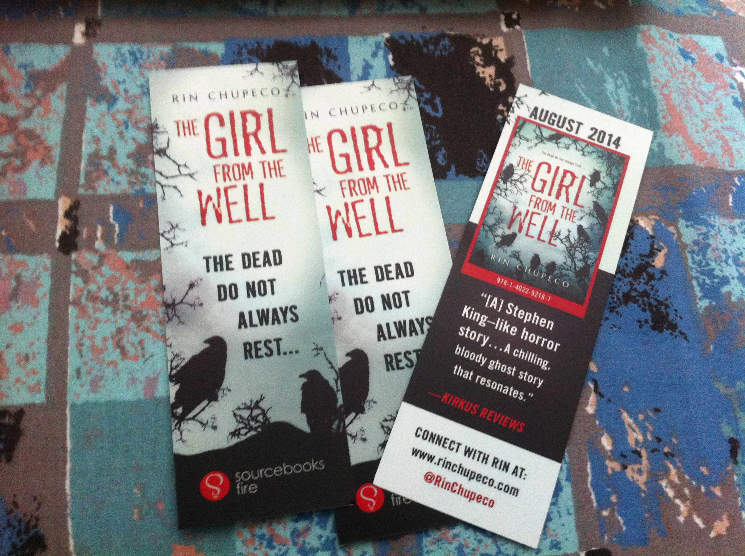 The Girl from the Well Bookmarks, Book Badges, and even more Changes!